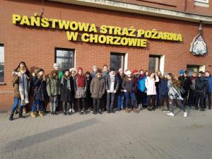 Wizyta w Centrum Edukacji Przeciwpożarowej w Chorzowie