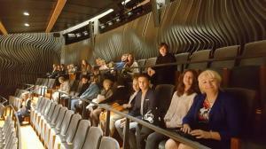 Wizyta w siedzibie Narodowej Orkiestry Symfonicznej Polskiego Radia